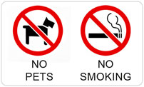 No Pets and No Smoking